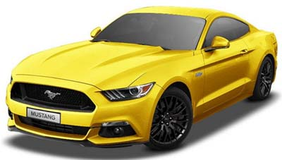 Ford India Mustang Launched in India at Rs. 65 Lakhs